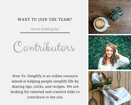 how to simplify contributors