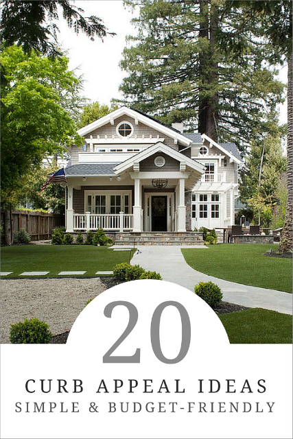 20 simple ways to add curb appeal how to simplify
