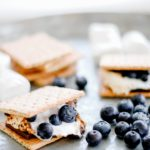 Simple Blueberry S'mores Recipe