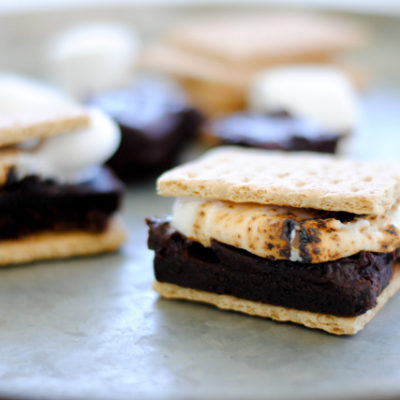 Simple Brownie S'mores Recipe