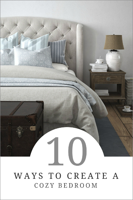 10 ways to create a cozy bedroom how to simplify for Ways to design your bedroom