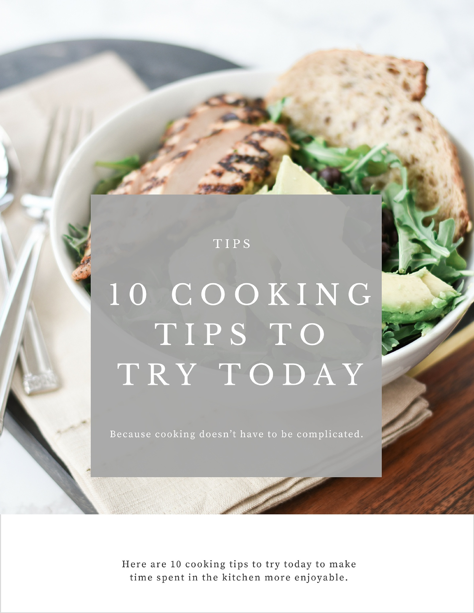 10 Cooking Tips to Try Right Now