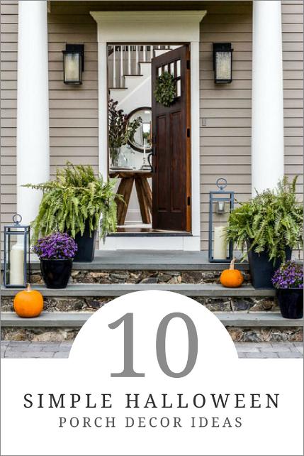 halloween porch decor