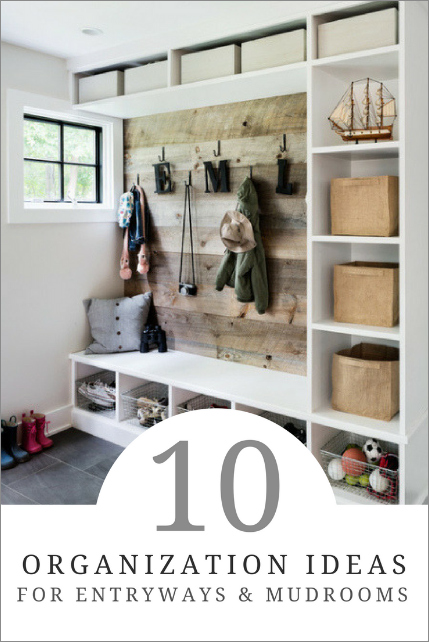 10 Simple Tips for Mudroom Organization
