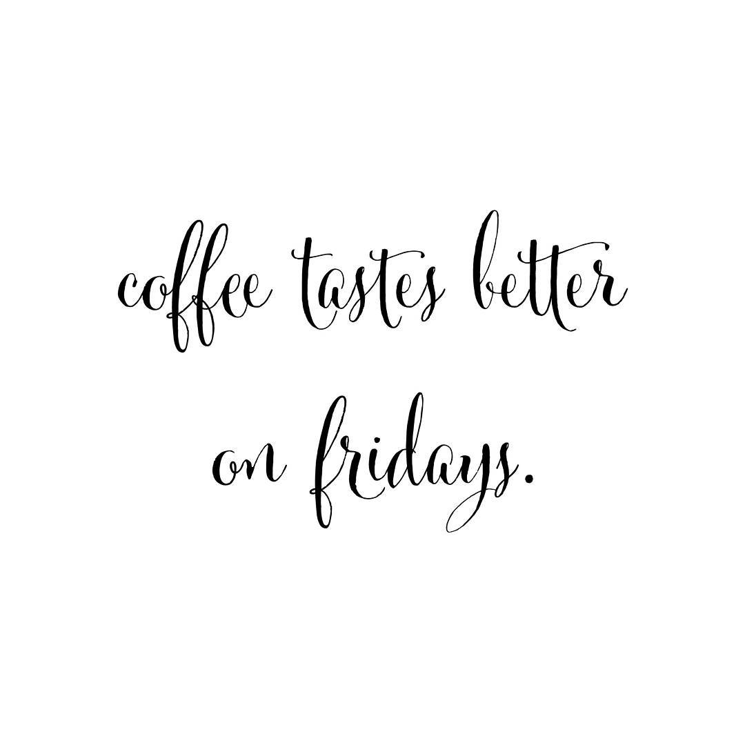 Happy Friday! Double tap if you agree  coffee coffeebreakhellip