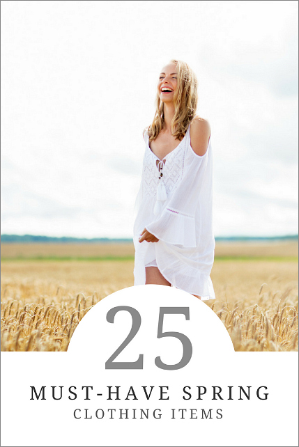 25 must have spring clothing items how to simplify for Must have dress shirts