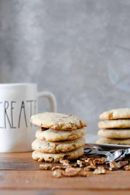 6-Ingredient Butter Pecan Cookie Recipe
