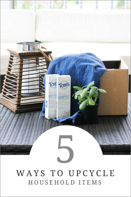 5 Simple Ways to Upcycle Household Items
