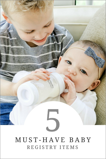 5 Must-Have Baby Registry Items