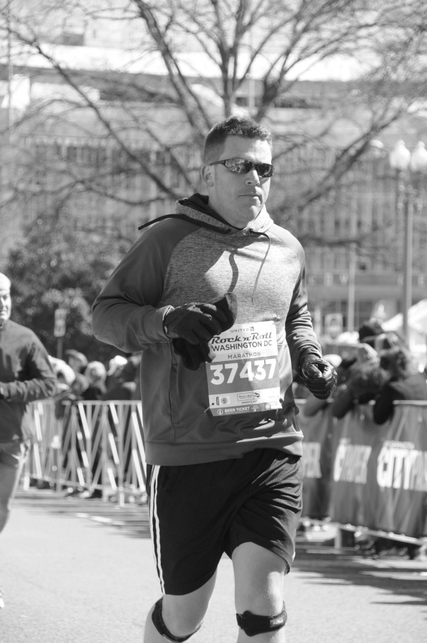 running the D.C. Rock 'n Roll marathon