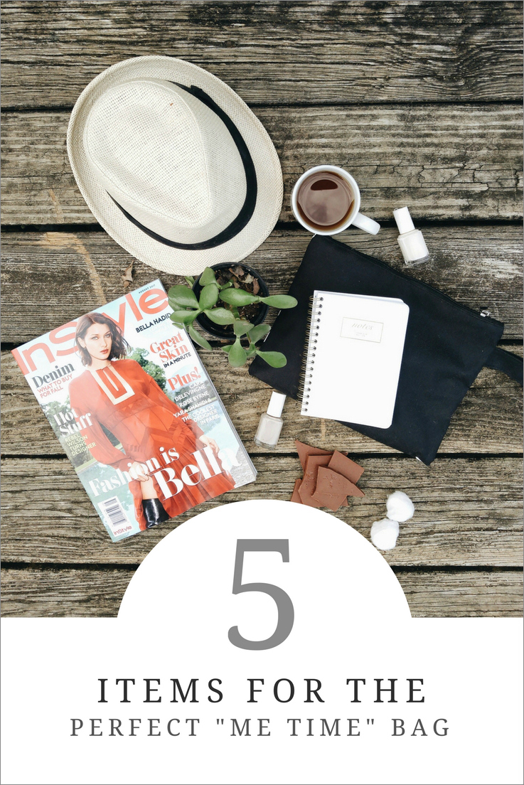 "5 Items for the Perfect ""Me Time"" Bag"