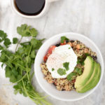 Nutritious Breakfast Recipe: Quinoa Bowl With Egg and Avocado