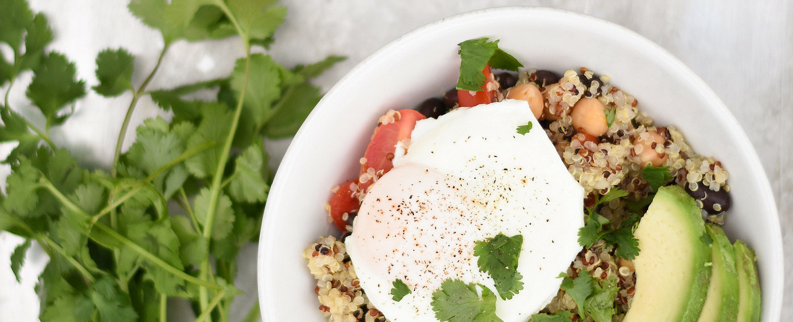 Nutritious Breakfast Recipe: Quinoa Bowl With Egg and Avocado