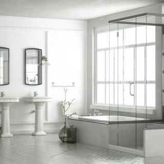 How To Keep A Glass Shower Door Clean