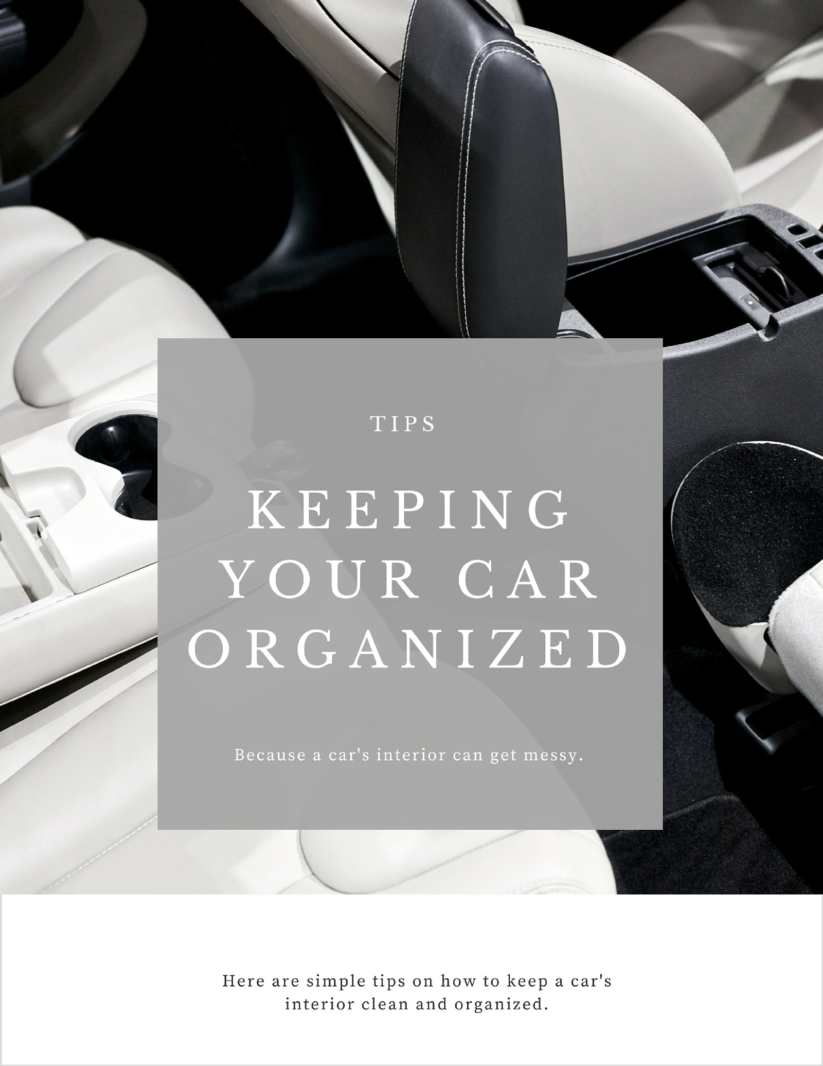 5 Ways To Keep A Car Interior Clean With Kids How To Simplify